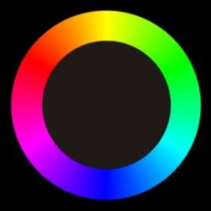 symmetrischer Farbkreis